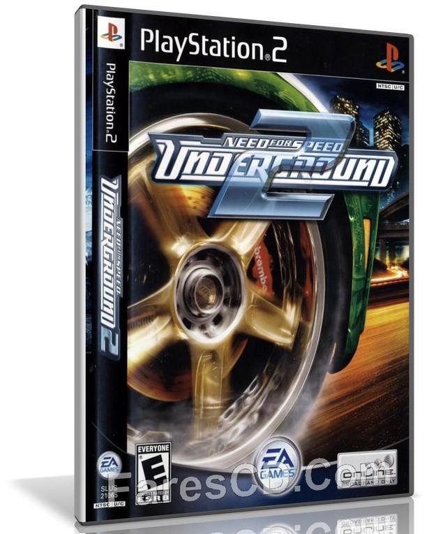 لعبة   Need for Speed Underground 2 PS2   لأجهزة بلايستيشن 2