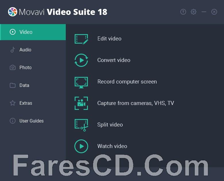 برنامج تحرير ومونتاج وتحويل الفيديو   Movavi Video Suite