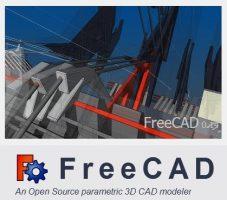 برنامج التصميم الهندسى المجانى | FreeCAD 0.17.13528