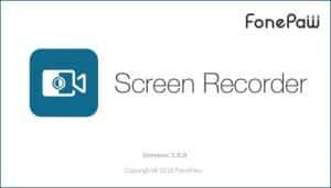 برنامج تسجيل شاشة الكومبيوتر   FonePaw Screen Recorder 3.8.0