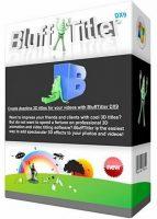 برنامج تصميم النصوص المتحركة | BluffTitler Ultimate 14.1.1.8 Multilingual