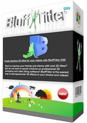 برنامج تصميم النصوص المتحركة | BluffTitler Ultimate 15.3.0.5 Multilingual