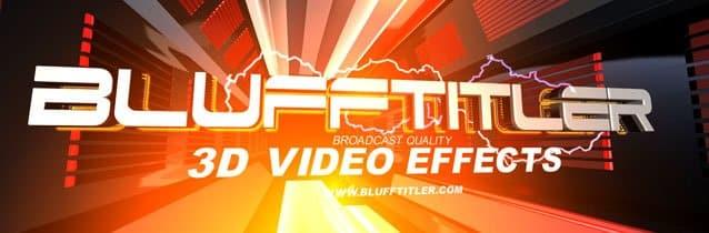 برنامج تصميم النصوص المتحركة | BluffTitler Ultimate