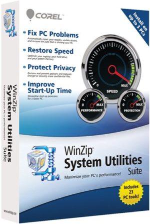 برنامج صيانة وتسريع الكومبيوتر | WinZip System Utilities Suite 3.14.1.6