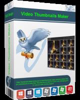 برنامج عمل الصور المصغرة لملفات الفيديو | Video Thumbnails Maker Platinum 11.0.0.3