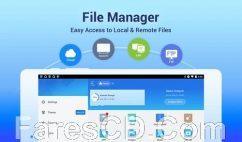تطبيق إدارة الملفات للأندرويد | ES File Explorer File Manager v4.1.8.2.1 Mod