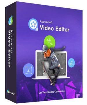 أسهل برامج مونتاج الفيديو   ApowerEdit Apowersoft Video Editor 1.7.1.10