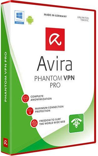 برنامج إخفاء الهوية على الإنترنت | Avira Phantom VPN Pro