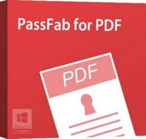 برنامج إزالة كلمات السر لملفات بى دى إف | PassFab for PDF 8.3.0.13