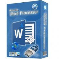 برنامج إنشاء الوثائق والمستندات البسيط   Atlantis Word Processor 3.2.7.1