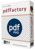 برنامج إنشاء ملفات بى دى إف   pdfFactory Pro 6.32