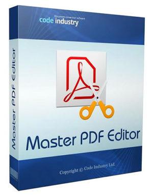 برنامج إنشاء وتعديل بى دى إف   Master PDF Editor 5.7.20