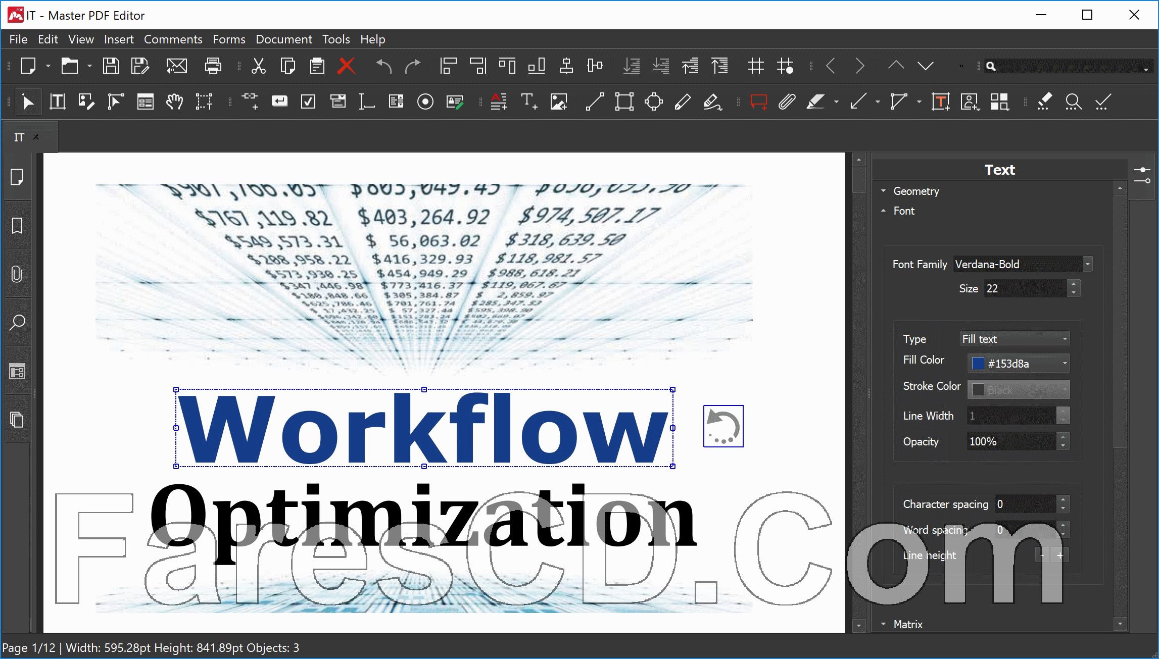 برنامج إنشاء وتعديل بى دى إف | Master PDF Editor