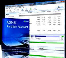 برنامج تقسيم الهارديسك | AOMEI Partition Assistant 8.0