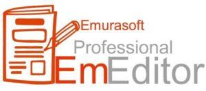 برنامج محرر النصوص الشهير | Emurasoft EmEditor Professional 20.7