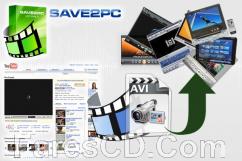 برنامج تحميل الفيديوهات من الإنترنت | save2pc v5.5.6 Build 1580