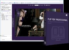 برنامج تصميم وتحرير ملفات بى دى إف   Flip PDF Professional 2.4.9.25