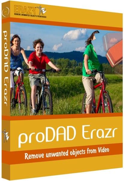 برنامج حذف الأجزاء الغير مرغوبة من الفيديو | proDAD Erazr