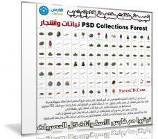 تجميعة ملفات مفتوحة للفوتوشوب | نباتات وأشجار | PSD Collections Forest