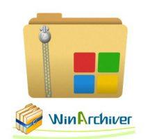 برنامج ضغط وفك ضغط الملفات | WinArchiver 4.6 Multilingual