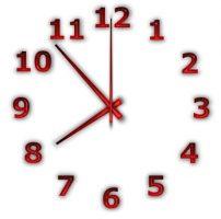 أداة عمل ساعة حائط للديسكتوب | TheAeroClock 4.74