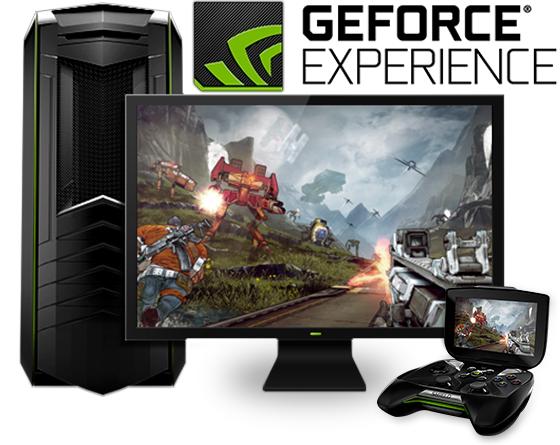 برنامج تحسين أداء الالعاب | NVIDIA GeForce Experience .