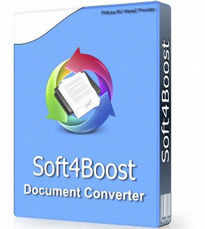 برنامج تحويل الوثائق | Soft4Boost Document Converter