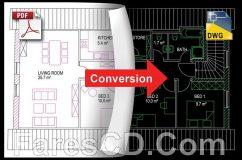 برنامج تحويل ملفات الاوتوكاد | BackToCAD Technologies Print2CAD 2019 DV 19.30