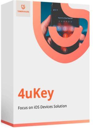 برنامج فتح قفل الايفون والايباد   Tenorshare 4uKey 2.4.2.4