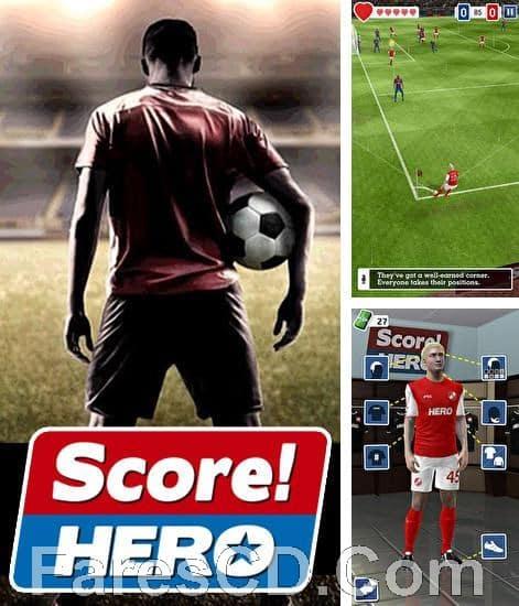 لعبة كرة القدم الاستراتيجية للاندرويد | SCORE! HERO MOD