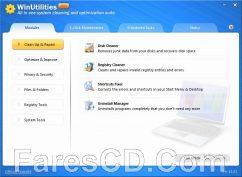 برنامج صيانة وتسريع الويندوز | WinUtilities Professional Edition 15.44