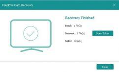 برنامج استرجاع الملفات المحذوفة   FonePaw Data Recovery 1.3.0