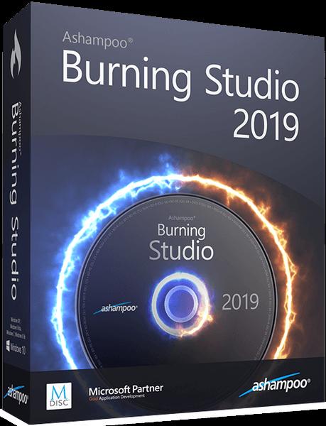 النسخة المجانية من عملاق نسخ الاسطوانات | Ashampoo Burning Studio 2019