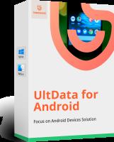 برنامج استعادة البيانات المحذوفة للأندرويد | Tenorshare UltData for Android 5.2.5.5
