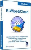 برنامج تنظيف الهارد وحفظ الخصوصية | R-Wipe & Clean v20.0 Build 2224