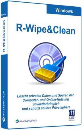 برنامج تنظيف الهارد وحفظ الخصوصية   R-Wipe & Clean v20.0.2320