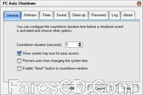 برنامج إغلاق الكومبيوتر فى وقت محدد | PC Auto Shutdown