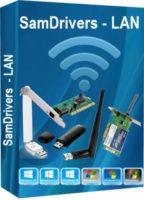 اسطوانة تعريفات كروت النت 2019 | SamDrivers 19.2 LAN Multilanguage