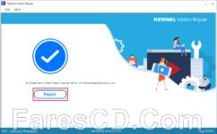 برنامج إصلاح الفيديوهات التالفة | Kernel Video Repair 19.0