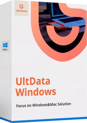 برنامج استعادة الملفات المحذوفة | Tenorshare UltData Windows 7.3.1.7