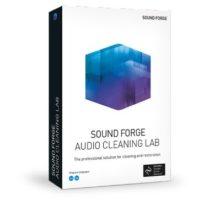 برنامج تنقية الملفات الصوتية | MAGIX SOUND FORGE Audio Cleaning Lab 23.0.1.21