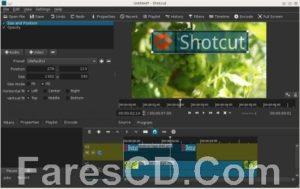 برنامج مونتاج وتحرير الفيديو البسيط | ShotCut 21.05.01
