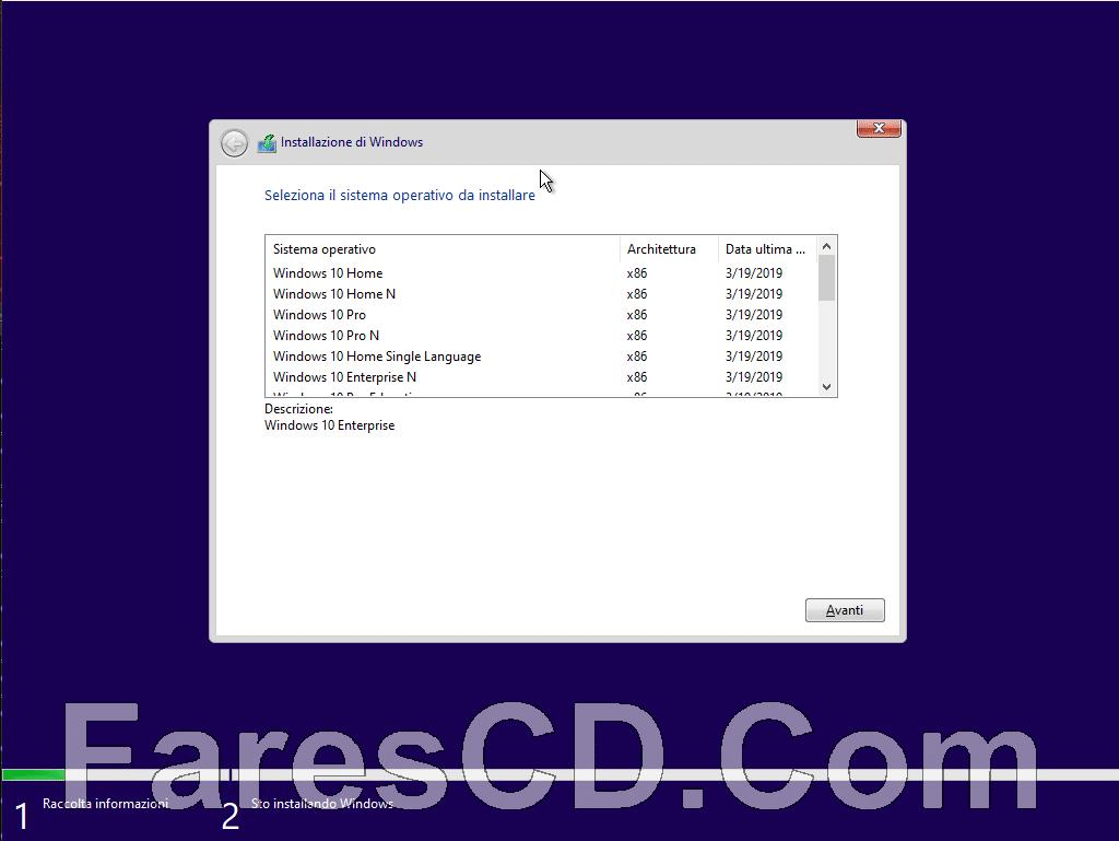 تجميعة إصدارات ويندوز 10 | Windows 10 19h1 x86 | يوليو 2019