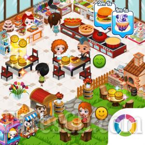 لعبة | Cafeland – World Kitchen MOD v2.1.75 | للأندرويد