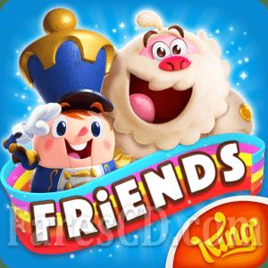 لعبة | Candy Crush Friends Saga MOD v1.58.4 | أندرويد