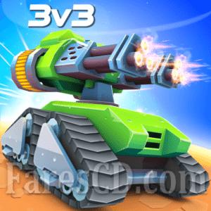 لعبة الدبابات الرائعة | Tanks A Lot! MOD v2.96 | للأندرويد