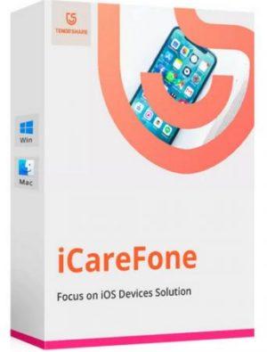 برنامج إدارة بيانات الايفون   Tenorshare iCareFone 7.6.1