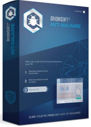 برنامج الحماية من فيروسات المالور   GridinSoft Anti-Malware 4.1.77.5153