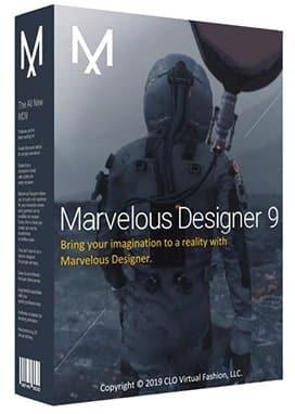برنامج تصميم الملابس والأقمشة   Marvelous Designer 9.5 Enterprise v5.1.455.28687