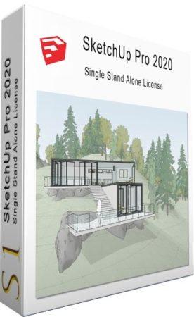 برنامج سكتش أب 2020 | SketchUp Pro 2020 20.1.235